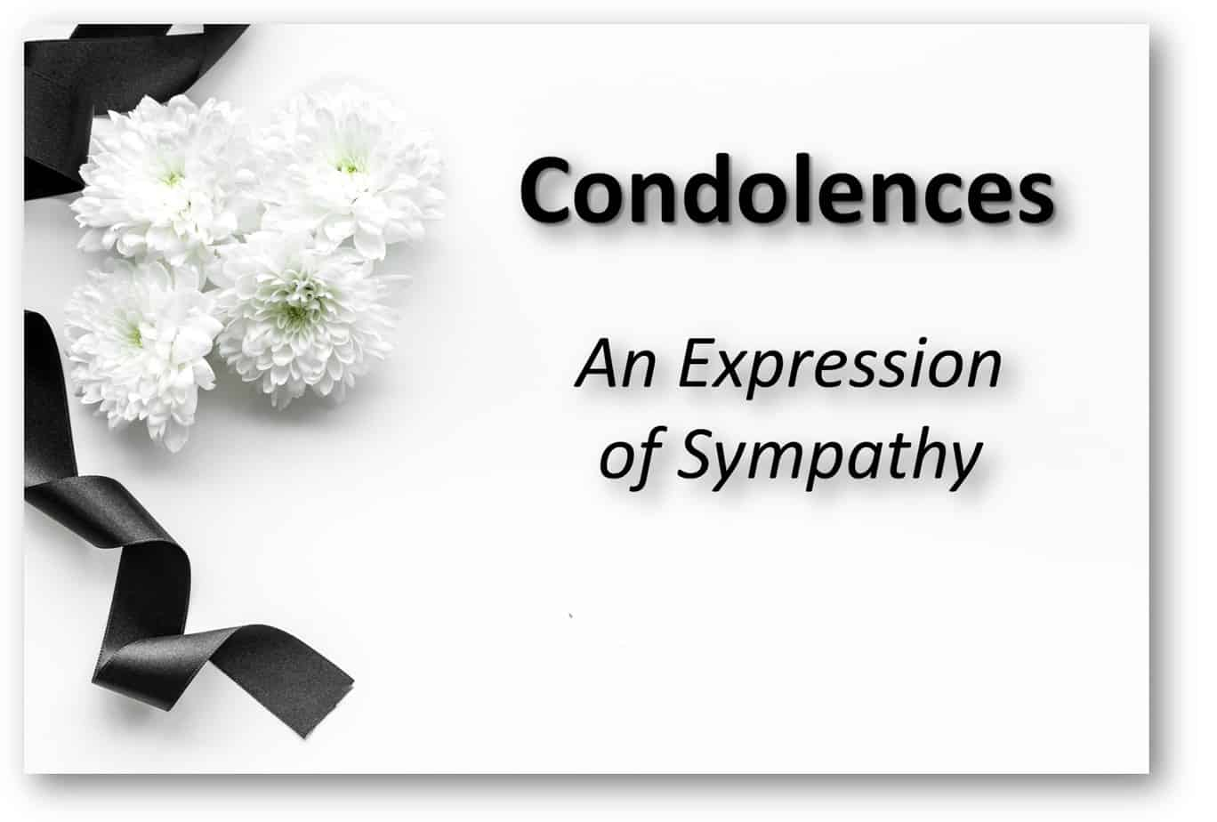 Letter Of Condolence For Loss Of Father from condolencemessages.com